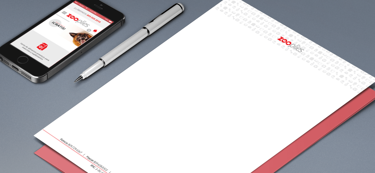 Diseño de papel timbrado